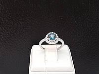 Серебряное кольцо Ярина с топазом. Артикул 1596/9р-TLB 16,5, фото 1