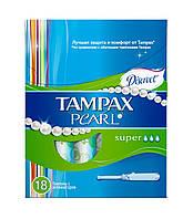 Тампон Tampax Discreet Pearl Super Duo 18шт