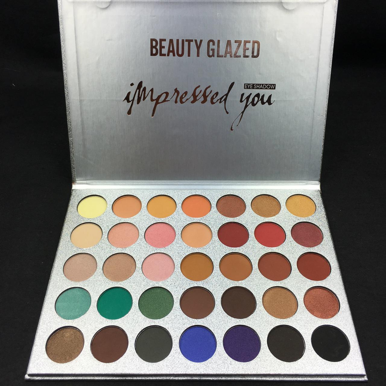 Набор из 35 теней Beauty glazed impressed you