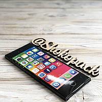 Шоколадная плитка 85г  «iPhone Black»