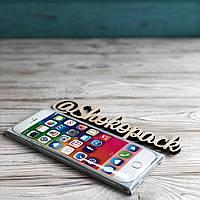 Шоколадная плитка 85г  «iPhone White»