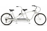 "Велосипед 26"" Schwinn Tango Tandem 2015 silver"