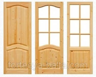 Двери деревянные 80 полотно