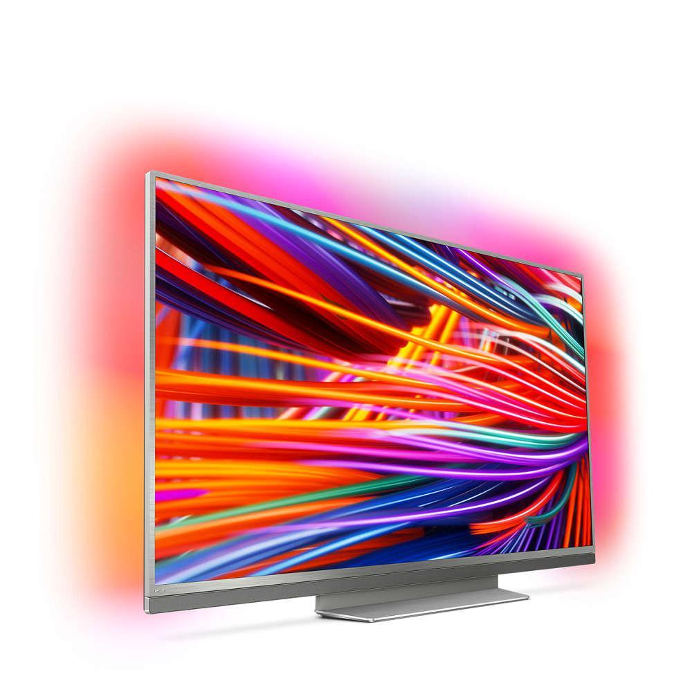 Телевизор Philips 55PUS8503/12 (PPI2900Гц, 4K Smart Android, Quad Core, P5 Perfect Picture, DVB-С/Т2/S2, 45Вт)