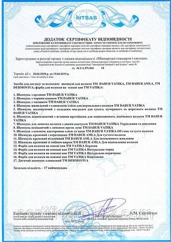 Сертификация бытовой химии и косметических средств - шампуни, лаки, краски для волос , фото 2