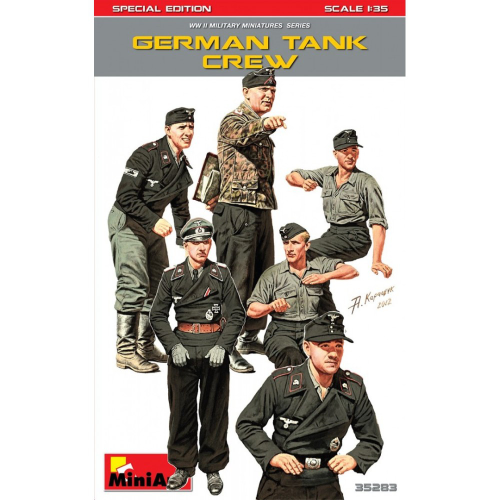 Немецкий экипаж танка. Специальный выпуск. 1/35 MINIART 35283