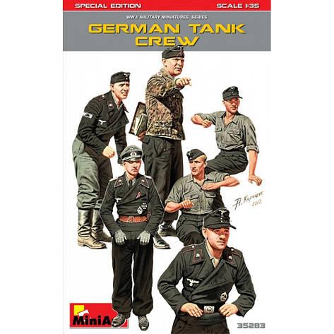 Немецкий экипаж танка. Специальный выпуск. 1/35 MINIART 35283, фото 2