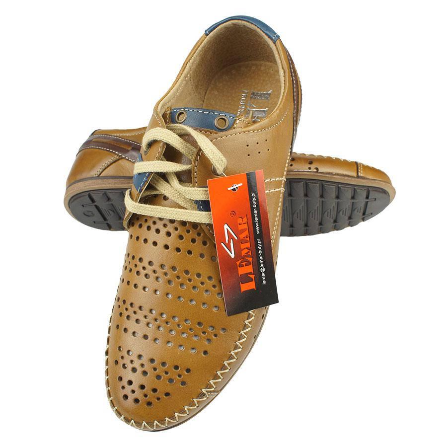 Шкіряні чоловічі мокасини Lemar 1048-18 Brown коричневого кольору 4fd3d2666ad1a