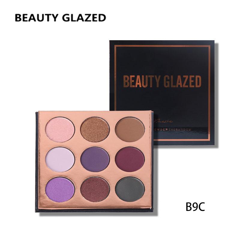 Тени для век Beauty glazed pressed powder eyeshadow