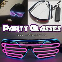 """Світяться окуляри - """"Party Glasses"""" - провідні, фото 1"""