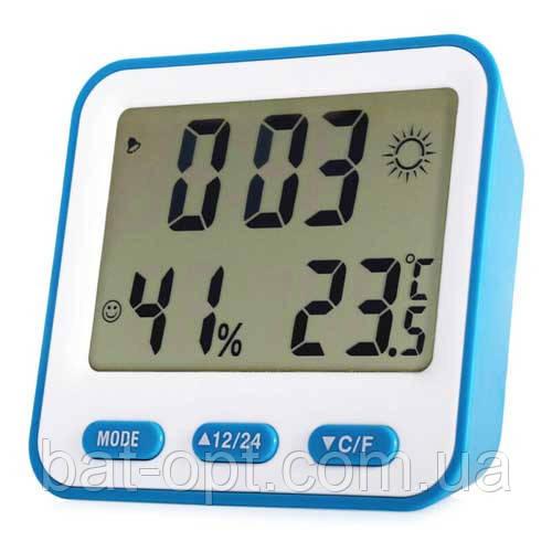 Термометр-гигрометр 854