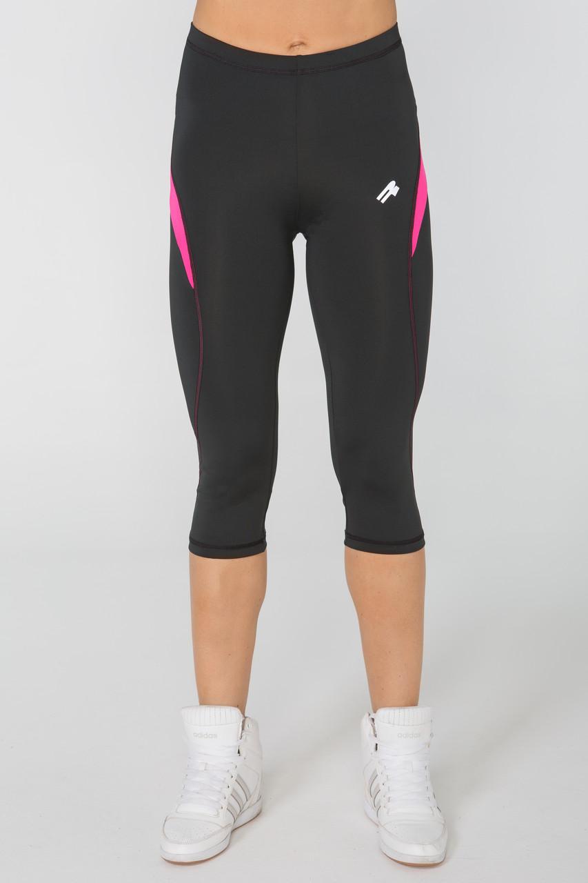 Спортивные женские лосины Rough Radical Flexy 3/4 (original), компрессионные легинсы-бриджи для бега, леггинсы-капри