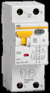 Автоматический Выключатель Дифф. тока АВДТ32 16А 30мА  ІЕК