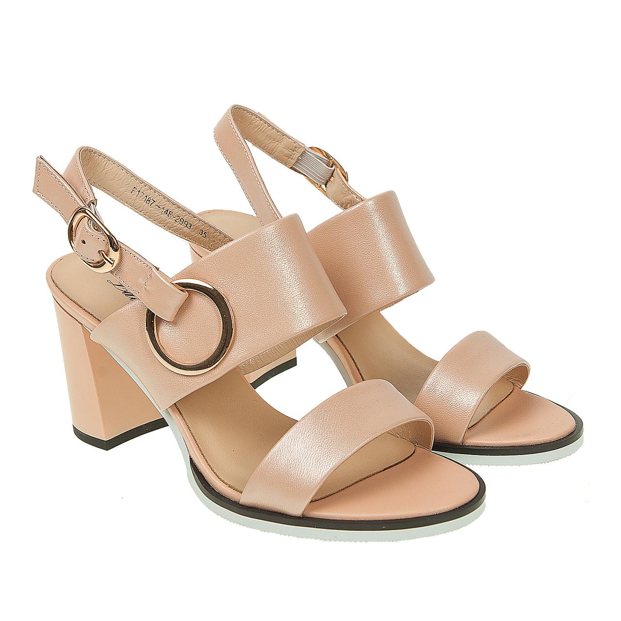 230e435433dd Босоножки женские Lady Marcia (роскошный оттенок с блеском, на удобном  каблуке), цена 795 ...