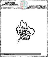 Штамп цветок