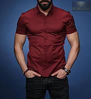 Рубашка мужская короткий рукав Rubaska Турция