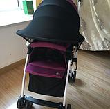 Солнцезащитный козырек для колясок. Цвет Голубой., фото 6