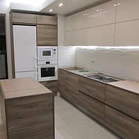 Кухни на заказ Одесса пластик шпон, фото 1