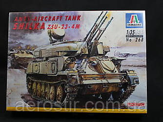 ZSU-23-4M Shilka Air Defense System 1/35  Italeri 268