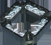 Клеммная колодка четырехполюсная сечением 4×4 мм2
