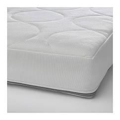 Матрас для детской кроватки IKEA JÄTTETRÖTT 60x120x11 см белый 403.210.04