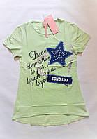 Летняя футболка для девочки 16 лет