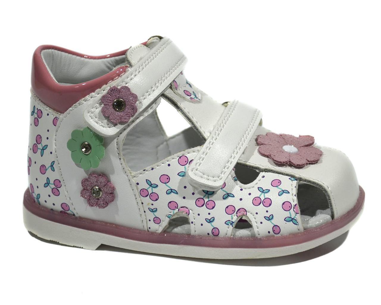 Босоножки для девочки ТОМ.М Pink Flower