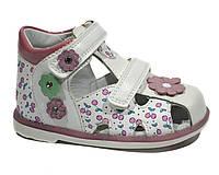 Босоножки для девочки ТОМ.М Pink Flower, фото 1