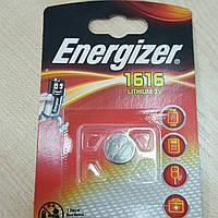 Дискова батарейка Energizer Cell Lithium 3V CR1616