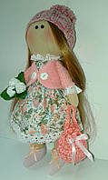 """Дизайнерская текстильная кукла """"Жанна"""" ручной работы"""