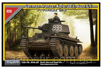German Pzkpfw 38 (t) Ausf.E/F 1/35  Tristar 35020