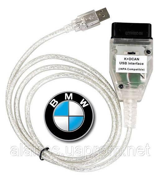 Диагностический сканер BMW INPA K+CAN  USB