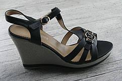 Босоножки, сандалии женские на танкетке Lilin Shoes, обувь летняя, повседневная