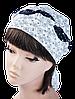 Бандана Голубка ромашка на белом