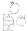 BEMETA NEO: Кольцо для полотенец, фото 2