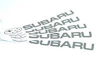 """Наклейка на  автомобиль  """"Subaru"""" 300*30 мм"""