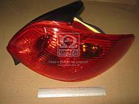 Фонарь задний правый PEUGEOT 206 9.98-03.06 (пр-во DEPO) 550-1931R-UE