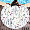 Круглое покрывало-полотенце  20044