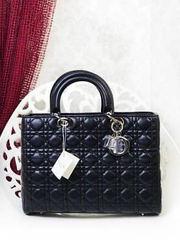 932182c2b974 Сумка в стиле Dior midi big черная копия люкс  продажа, цена в ...