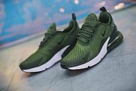 Мужские кроссовки Nike Air Max 270 Green White Black, фото 1