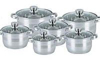Набір посуду 12 предметів KingHoff KH4486