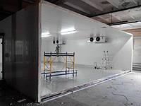 Сборно-щитовые холодильные камеры хранения, охлаждения и  заморозки пищевых продуктов