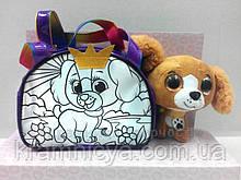 Набор для творчества ROYAL PET'S Elly: сумочка-раскраска с игрушкой (RP-01-03)