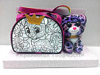 Набор для творчества ROYAL PET'S Irbis: сумочка-раскраска с игрушкой (RP-01-05), фото 1