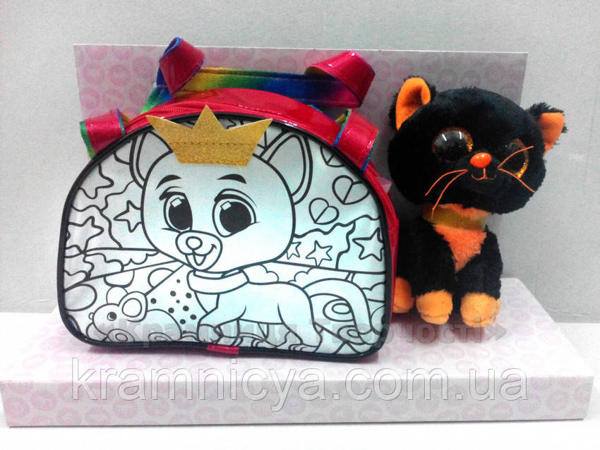 Набор для творчества ROYAL PET'S Bell: сумочка-раскраска с игрушкой (RP-01-01)