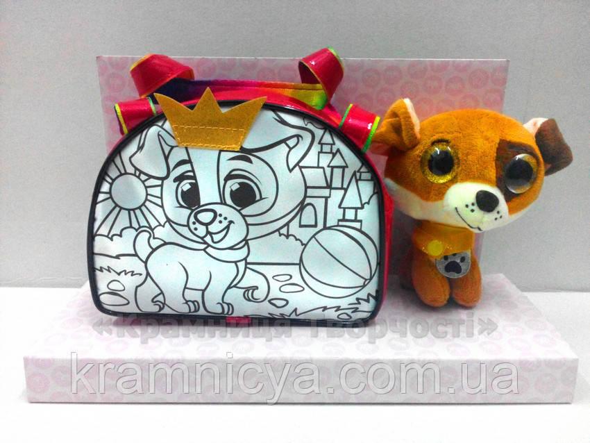Набор для творчества ROYAL PET'S Candy: сумочка-раскраска с игрушкой (RP-01-06)