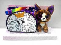 Набор для творчества ROYAL PET'S Lora: сумочка-раскраска с игрушкой (RP-01-07), фото 1