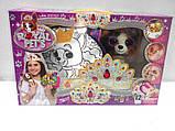Набор для творчества ROYAL PET'S Lora: сумочка-раскраска с игрушкой (RP-01-07), фото 6
