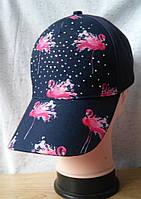 """Женская бейсболка """"Розовый фламинго"""" (03011)"""