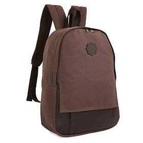 Мужской рюкзак из парусины и кожи 9004C